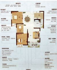 滢滨花园,濮北新区,紧凑小三室,现房