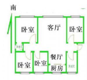 添运小区4室2厅2卫带地下室出售可贷款学区四室两厅房出售